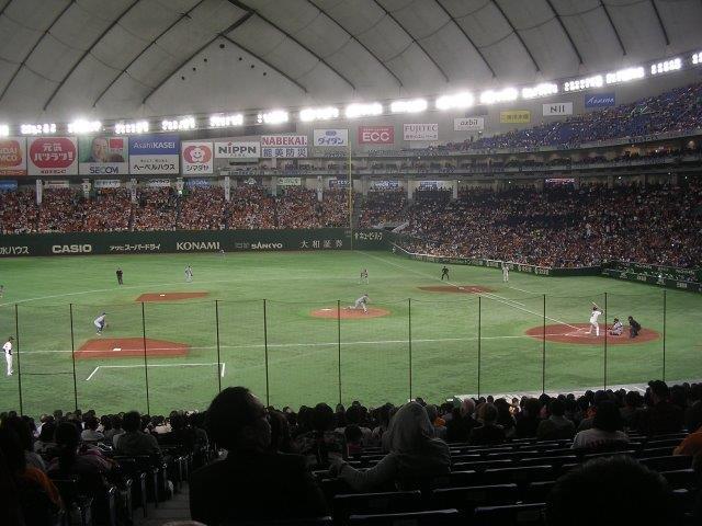 3/21(祝)18時30分 MLB開幕戦 アスレチックス対マリナーズ 東京ドームの画像