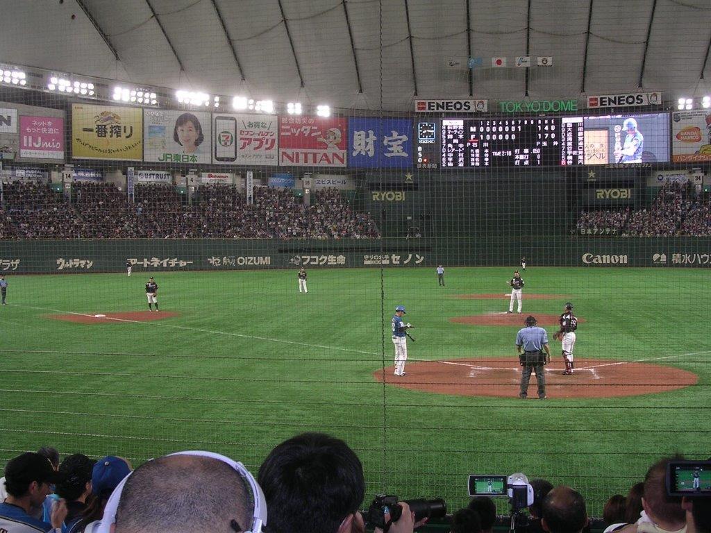 11/16(土)12時 WBSC プレミア12 Game29 台湾対オーストラリア 東京ドームの画像