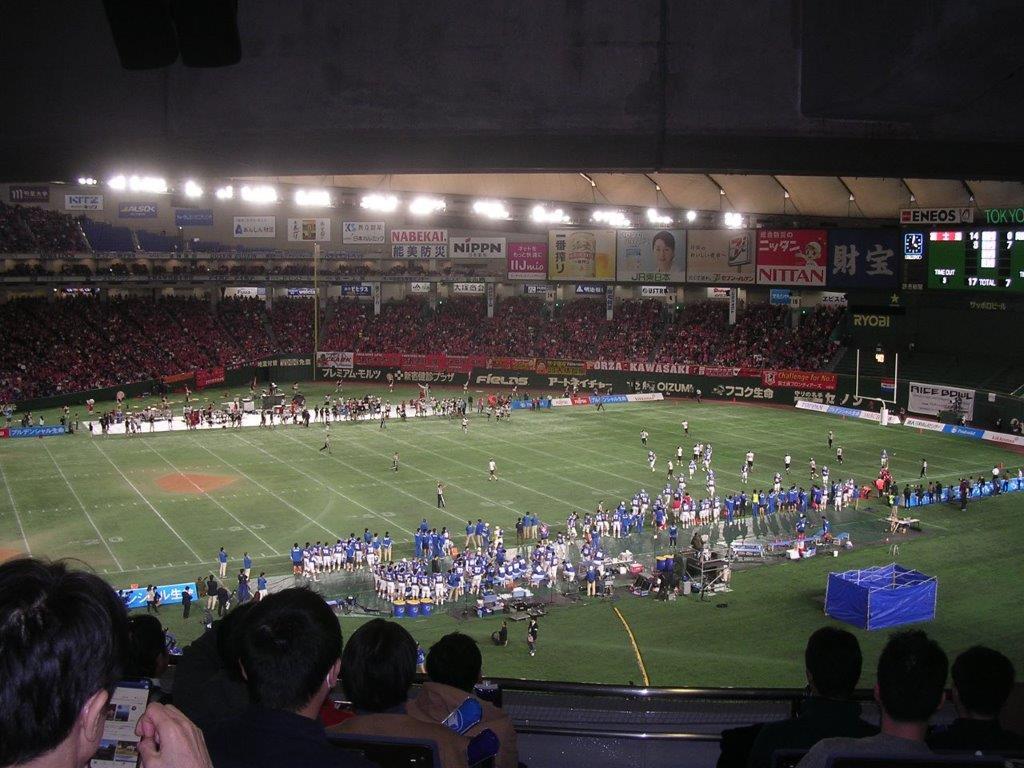 12/16(月)19時 JAPAN X BOWL XXXⅢ 第33回アメリカンフットボール日本社会人選手権 東京ドームの画像