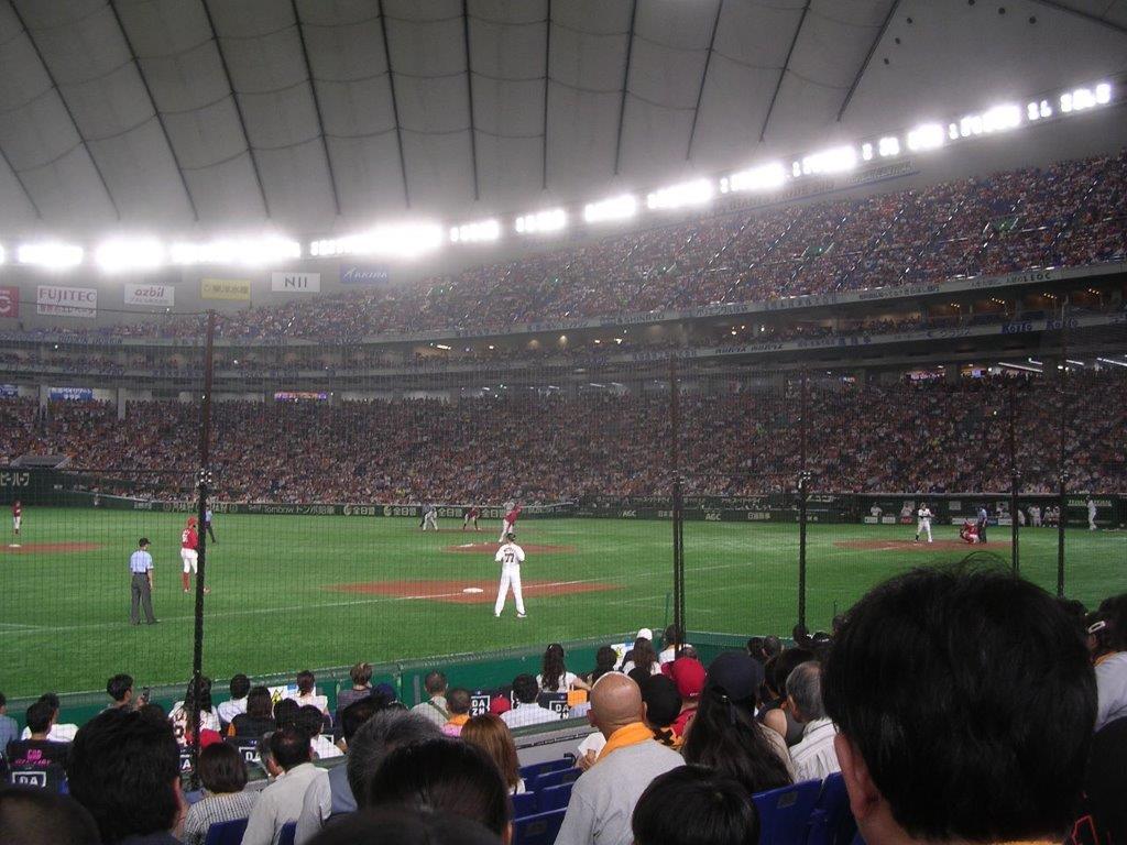 開幕延期 4/18(土)14時 巨人対広島 東京ドーム 2020年セ・リーグ公式戦の画像