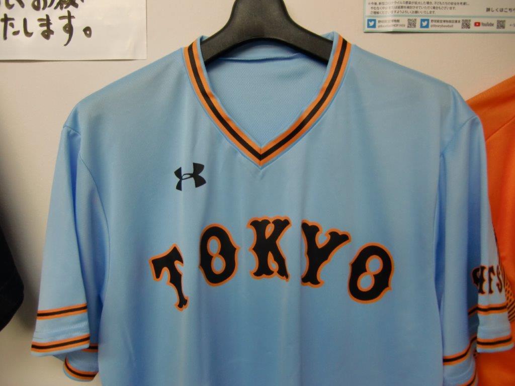 読売ジャイアンツ 平成元年モデルユニホーム ビジター・ブルー TOKYO Tシャツ