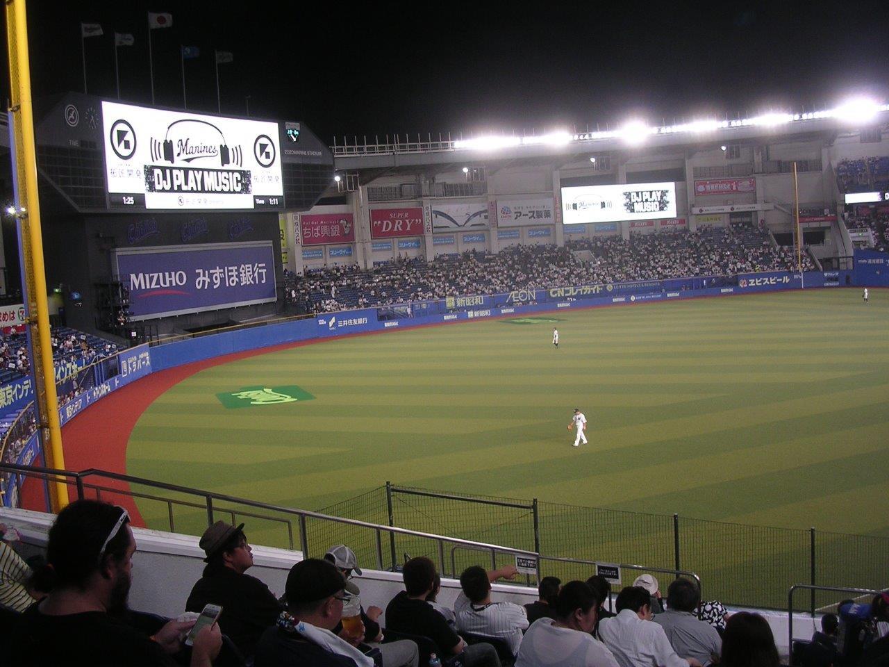 オープン戦 3/12(金)13時 千葉ロッテ対中日 ZOZOマリンスタジアムの画像