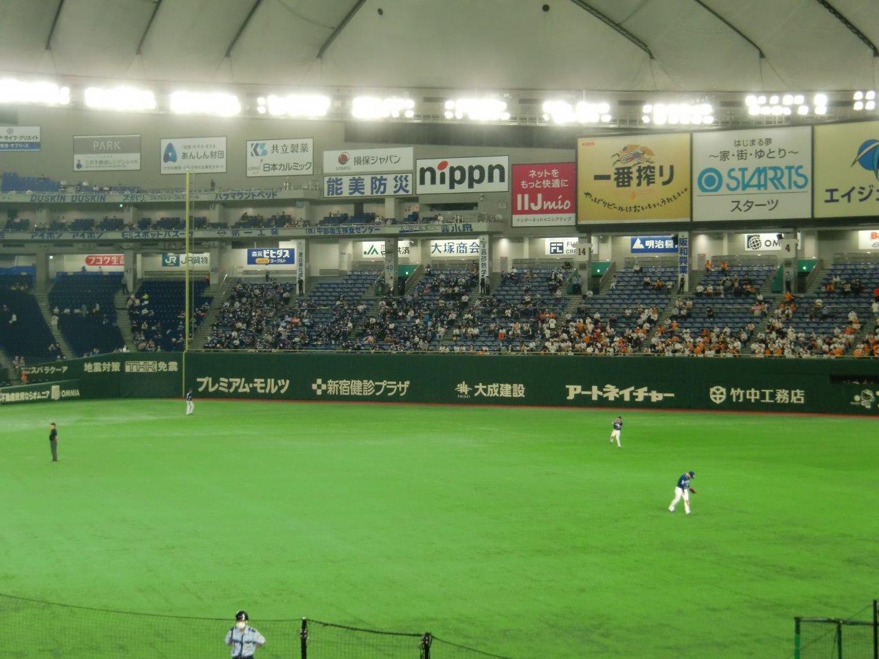 10/13(水)18時 読売巨人対阪神 東京ドーム 2021年セ・リーグ公式戦の画像