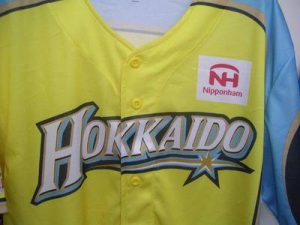 日本ハムファイターズ 北海道シリーズ2017 WE LOVE HOKKAIDO 限定ユニフォーム